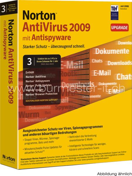 Скачать антивирус Norton AntiVirus 2009 16.2.0.7 Rus бесплатно.